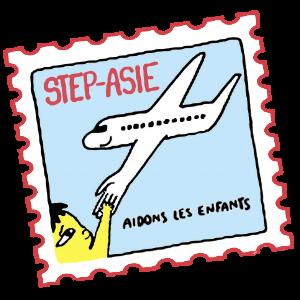 logo Step Asie - aide aux enfants en asie du sud est thailande vietnam laos cambodge