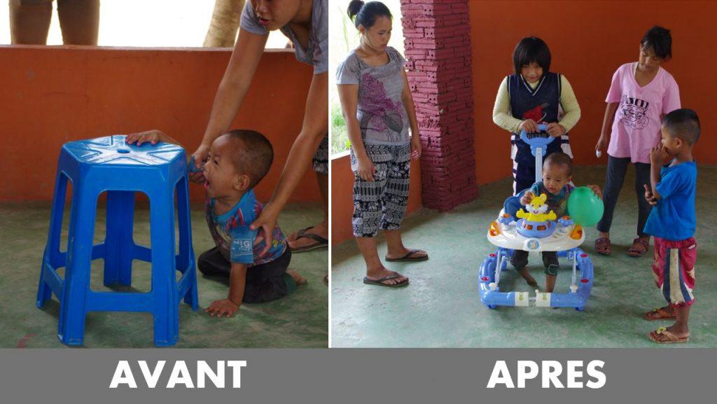 step asie - ban dek nana - orphelinat thailande
